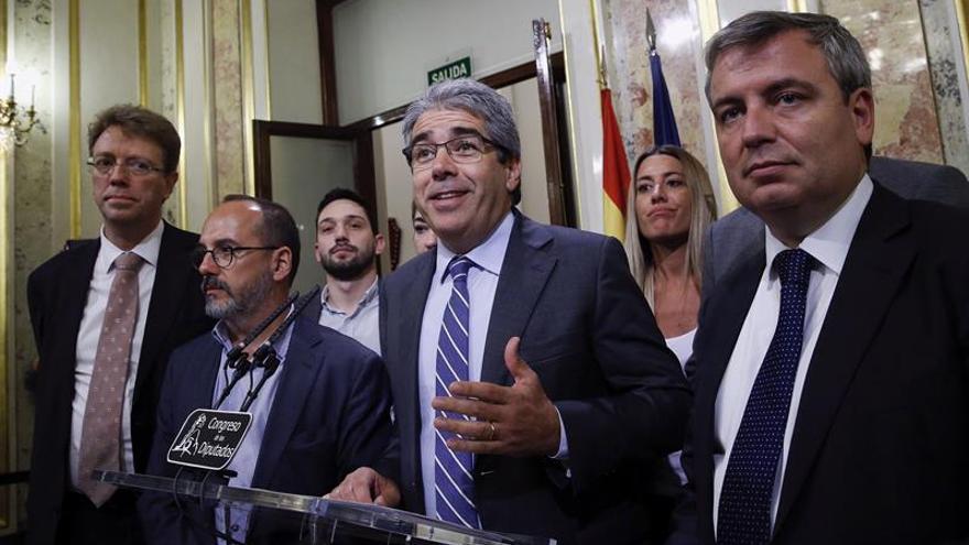 """Homs tras aceptar el Congreso el suplicatorio: """"Aquí ni diálogo ni puñetas"""""""