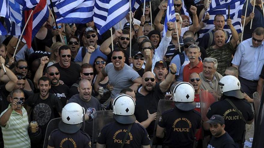 El partido neonazi griego denuncia impedimentos para hacer campaña electoral