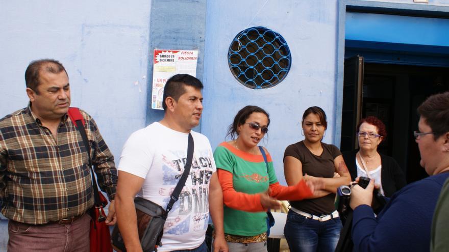 Presentacion Red de Solidaridad Popular de Jinámar.