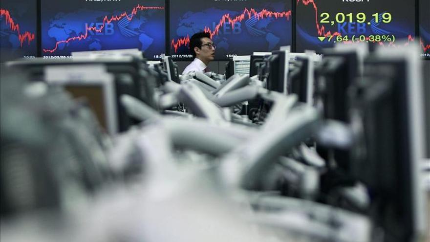 El Kospi surcoreano sube un 0,66 por ciento hasta los 1.952,79 puntos