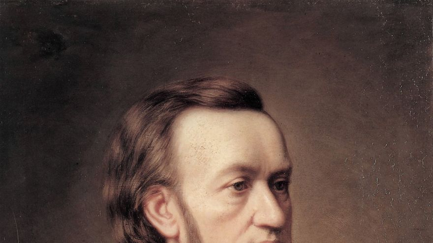 Richard Wagner, Caesar Willich 1862 | Wikimedia