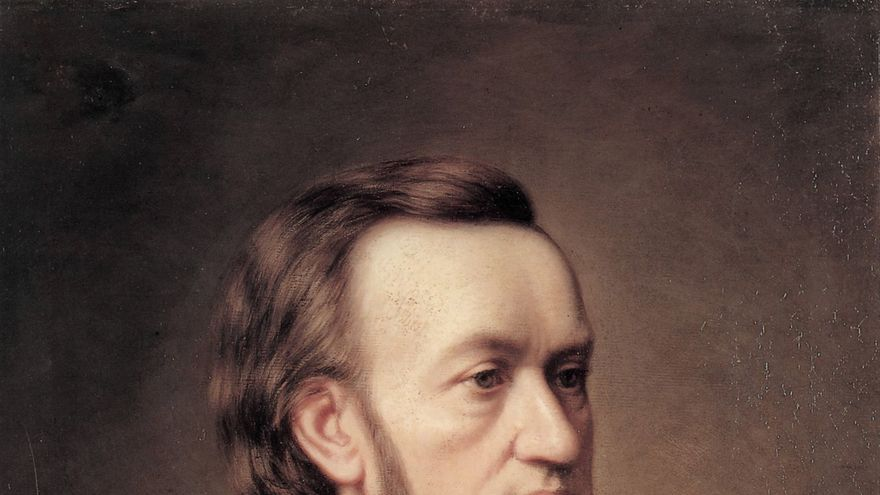 Richard Wagner, Caesar Willich 1862   Wikimedia