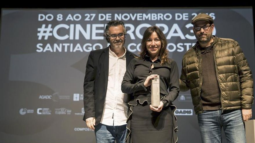 Lola Dueñas recibe el Premio Cineuropa por su versatilidad