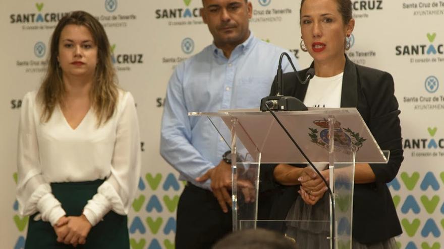 Imagen de la rueda de prensa de presentación del Maratón chicharrero.