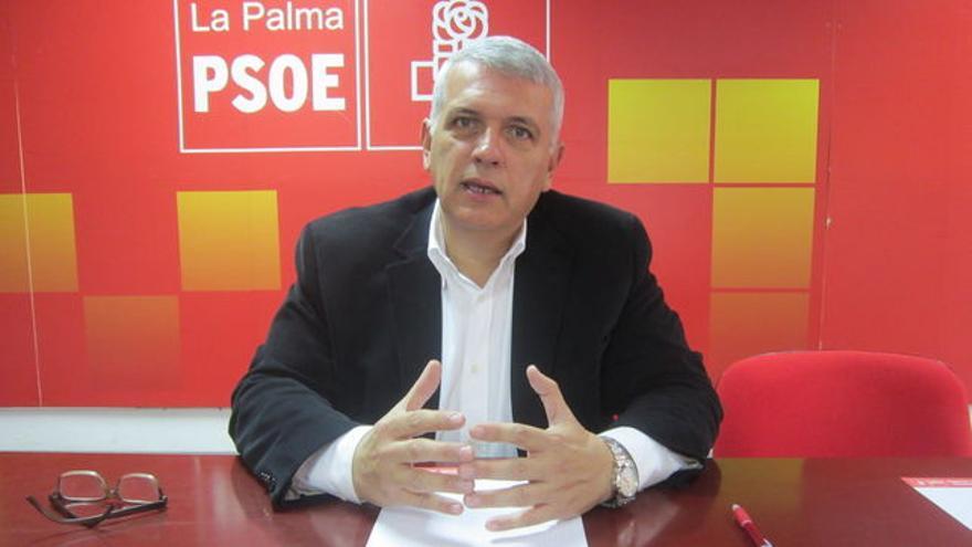 Manuel Marcos Pérez Hernández es el presidente de la gestora del PSOE en La Palma.
