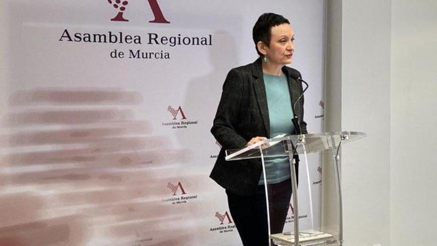 La diputada de Podemos María Marín