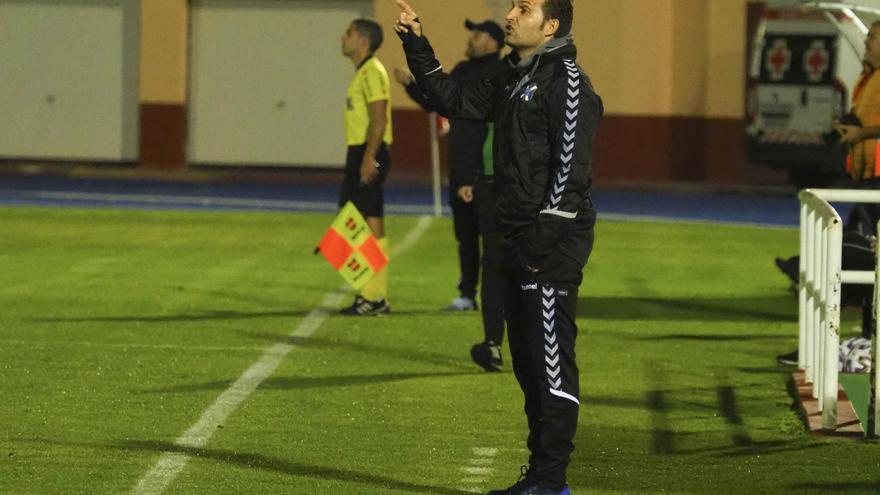 Rubèn Baraja, entrenador del CD Tenerife.