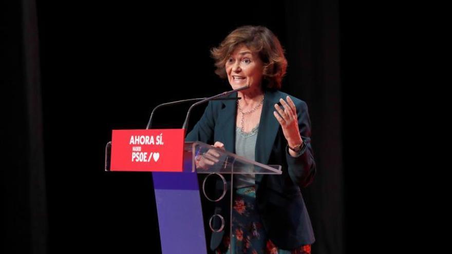 """Calvo asegura que el PSOE está """"entusiasmado y tranquilo"""" respecto al 10N"""