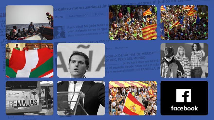 Catalunya, racismo y 'bullying': los temas que más llegan a los censores de Facebook en español