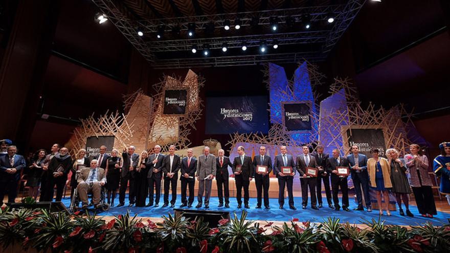 Acto de Honores y Distinciones del Cabildo de Gran Canaria 2017