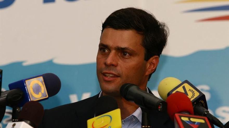 Fijan por tercera vez la audiencia de apelación al venezolano Leopoldo López