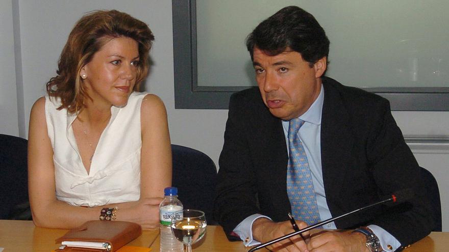 Ignacio González coincide con Cospedal en su primer acto como presidente en funciones