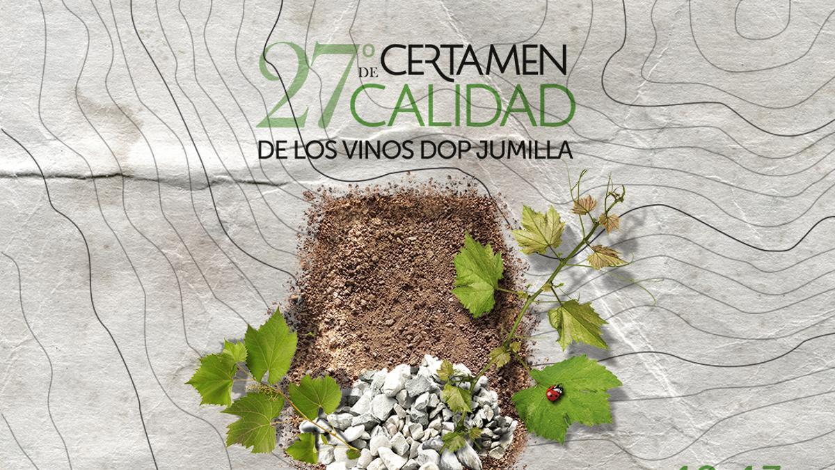 Cartel del Certamen de Calidad de Vinos DOP Jumilla 2021