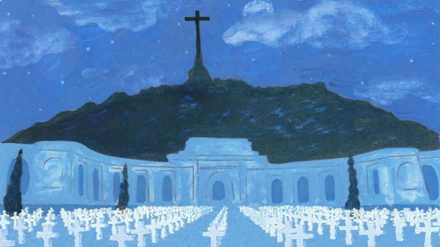 Memorial por las víctimas del Valle de los Caídos.