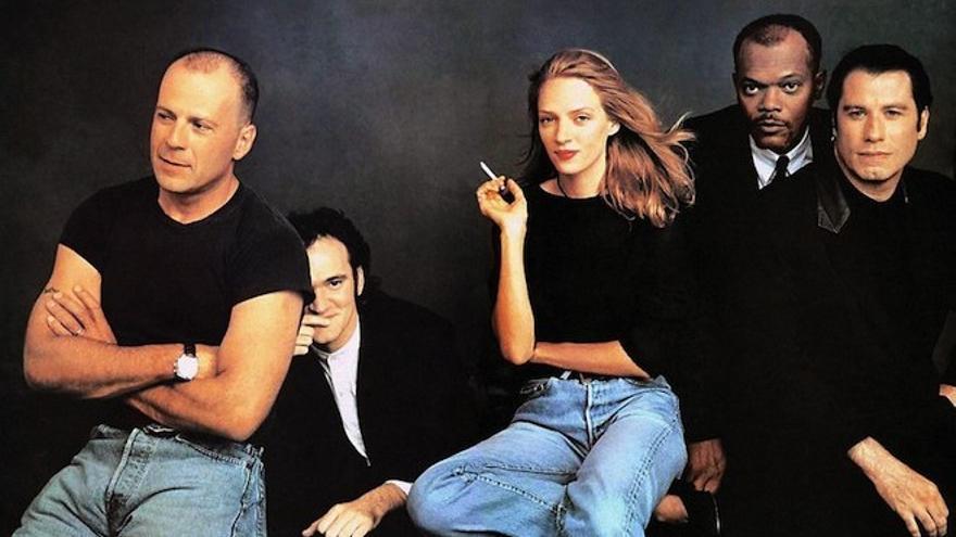 El equipo de Pulp Fiction