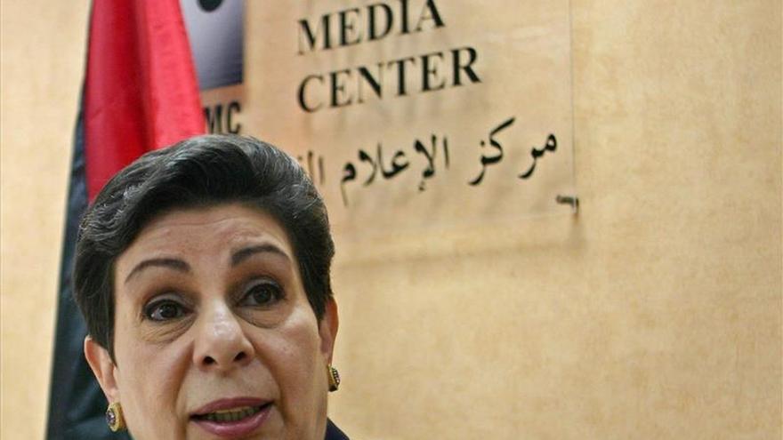 La política palestina Ashrawi advierte del fin a la solución de dos Estados
