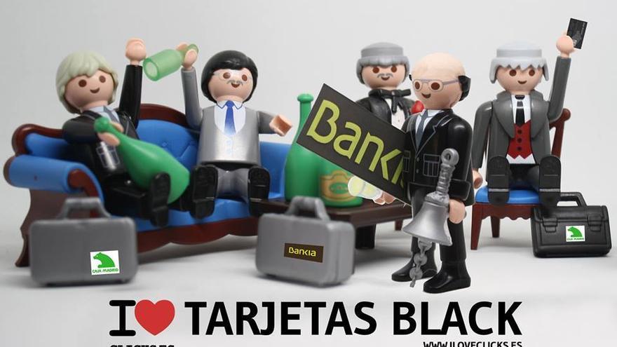 I love tarjetas black