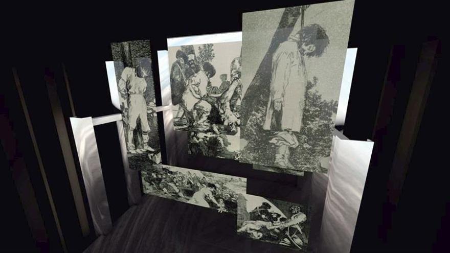 Rechi transforma el escenario del Liceu en un gran cuadro de Goya para Il trovatore
