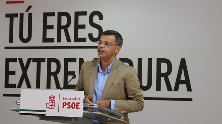 El portavoz del PSOE de Extremadura, Juan Antonio González / PSOE