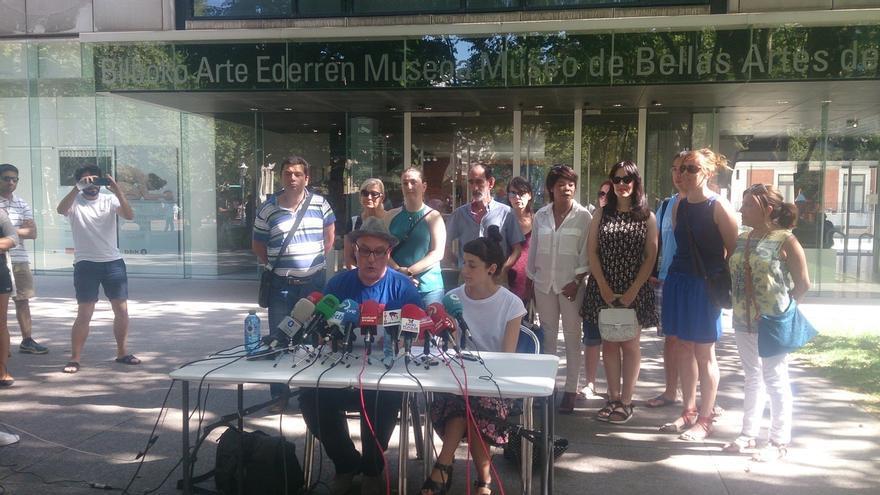 """Los trabajadores del Museo de Bellas Artes volverán este miércoles """"contentos y orgullosos"""" a sus puestos de trabajo"""