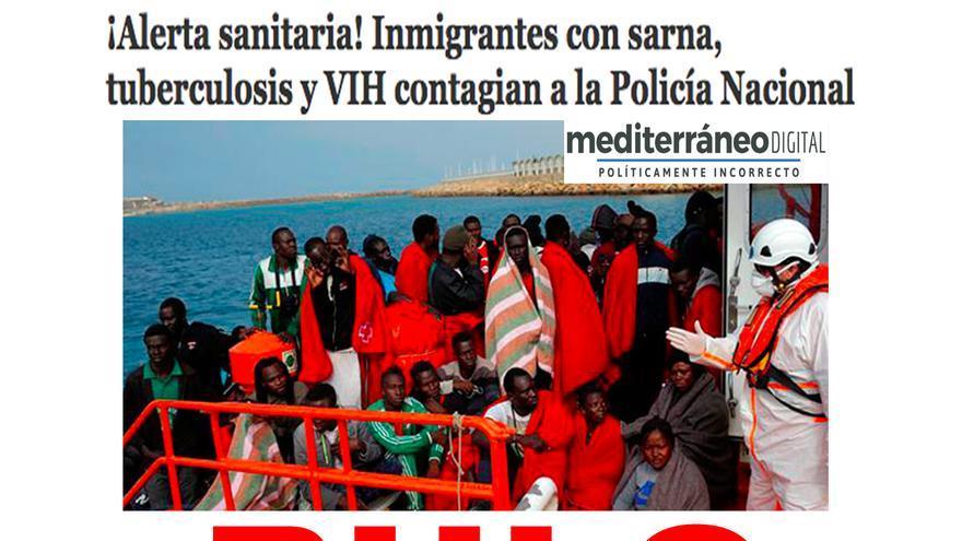 No hay pruebas de que inmigrantes hayan contagiado de VIH o tuberculosis a agentes de la Policía Nacional