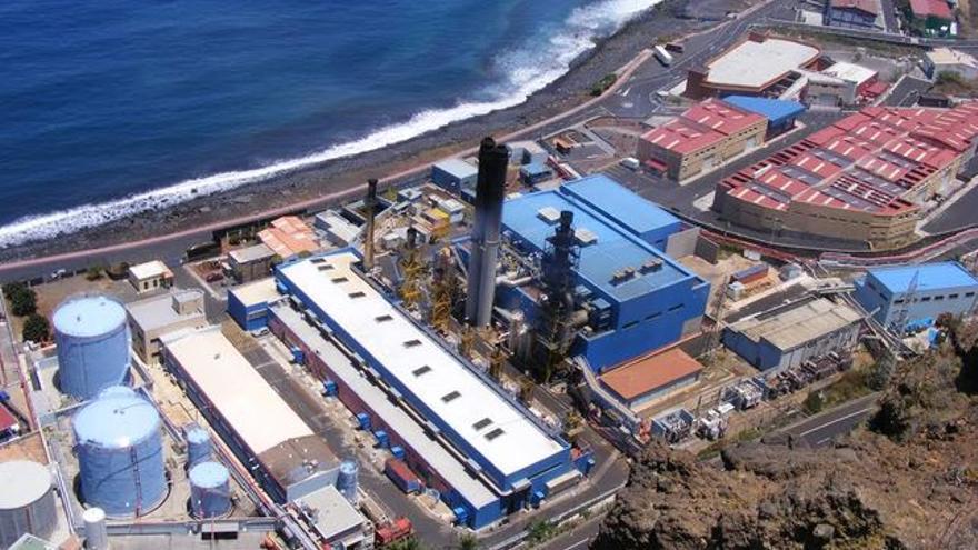 Central eléctrica de Los Guinchos, en Breña Alta.