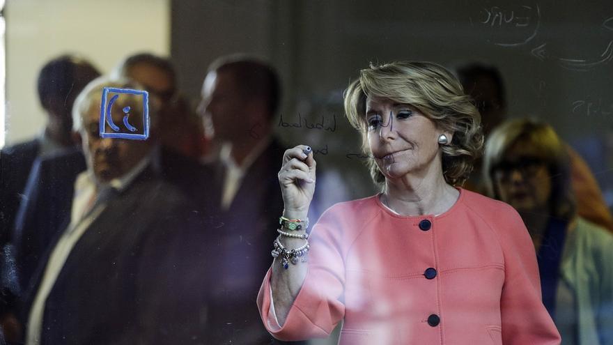 """Aguirre afirma estar """"abochornada"""" por lo sucedido con Rato, pero se niega a hacer de él """"un chivo expiatorio"""""""