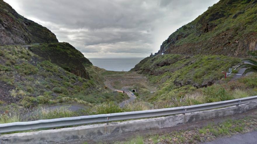 El accidente se produjo cerca de Barranco Seco.