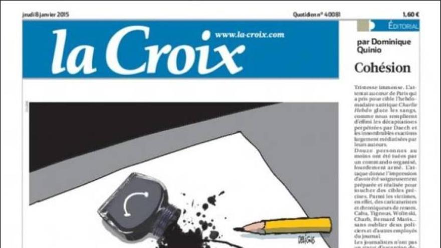 'Francia magullada' - La Croix (Francia)