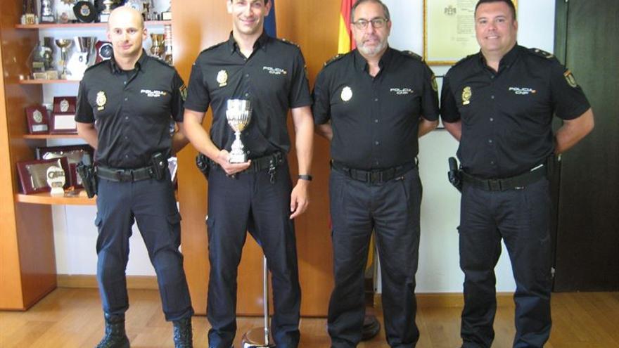 La Jefatura de Policía Nacional de Canarias, primera en el Campeonato de Tiro Policial.