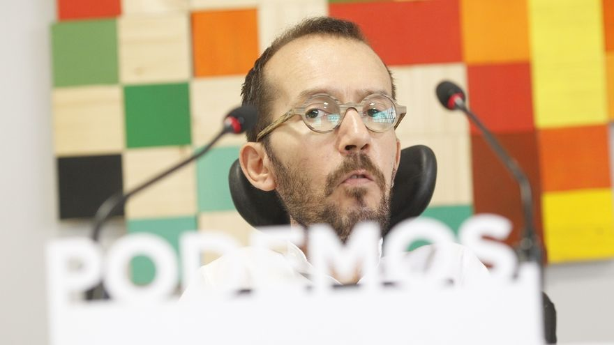 "Echenique compara a Rajoy con Trump y Le Pen por intentar ""sacar votos del odio entre la gente corriente"""