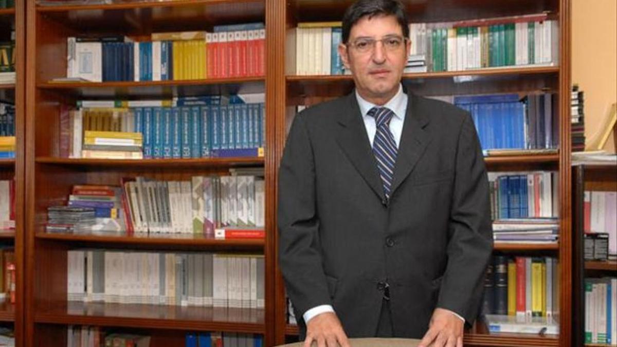 El presidente de la Sala de lo Contencioso-Administrativo de Canarias, César García Otero