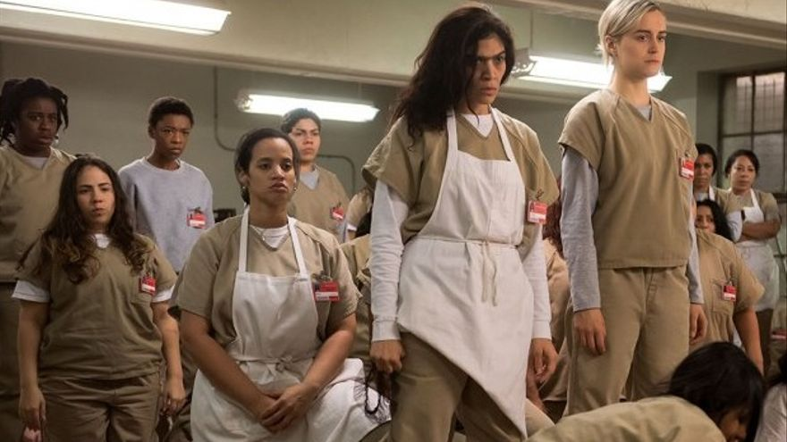 Fotograma de una escena de la serie Orange is the New Black // Netflix