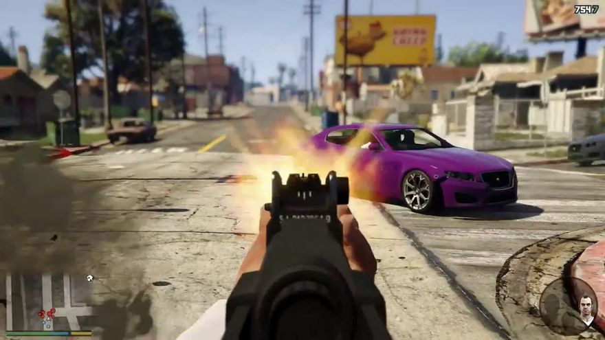 gta v in first person