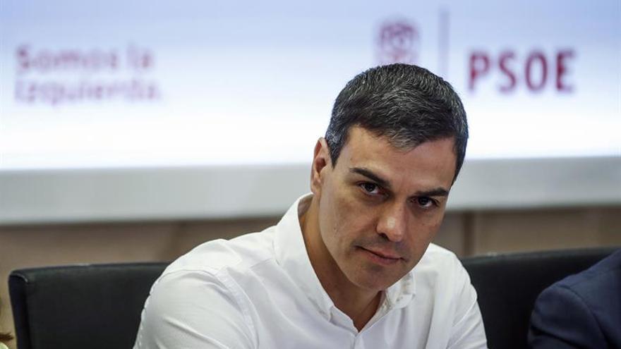 Pedro Sánchez da el pésame a la familia y a los seres queridos de Blesa