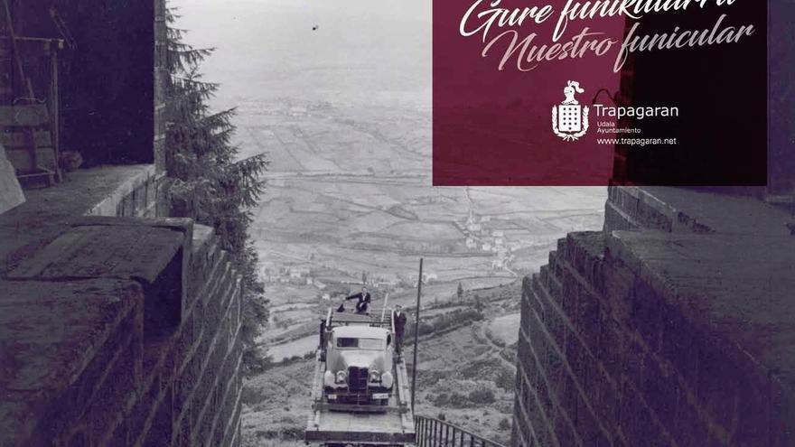 Trapagaran dedica el calendario de 2017 al Funicular de Larreineta  por su 90º aniversario