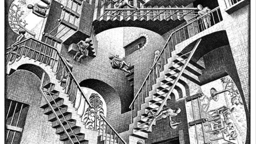 Relativity Escher wikipedia