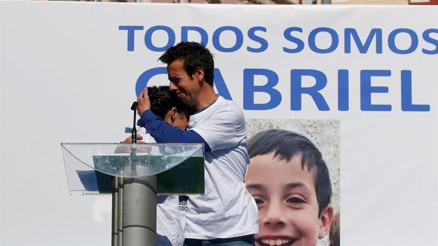 Detenida la pareja del padre de Gabriel Cruz tras el hallazgo del cadáver