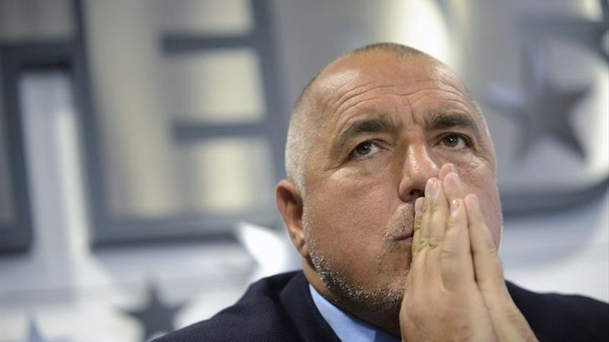 """""""Es un día malo para Europa"""", dice el primer ministro búlgaro, Boiko Borisov"""