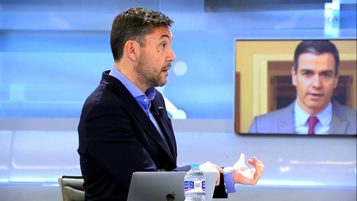 Javier Ruiz, en 'El programa de Ana Rosa'