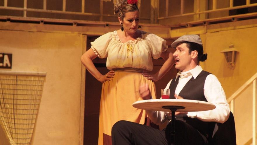 Escena de una de las zarzuelas que se podrán disfrutar en el ciclo propuesto por el Teatre Flumen