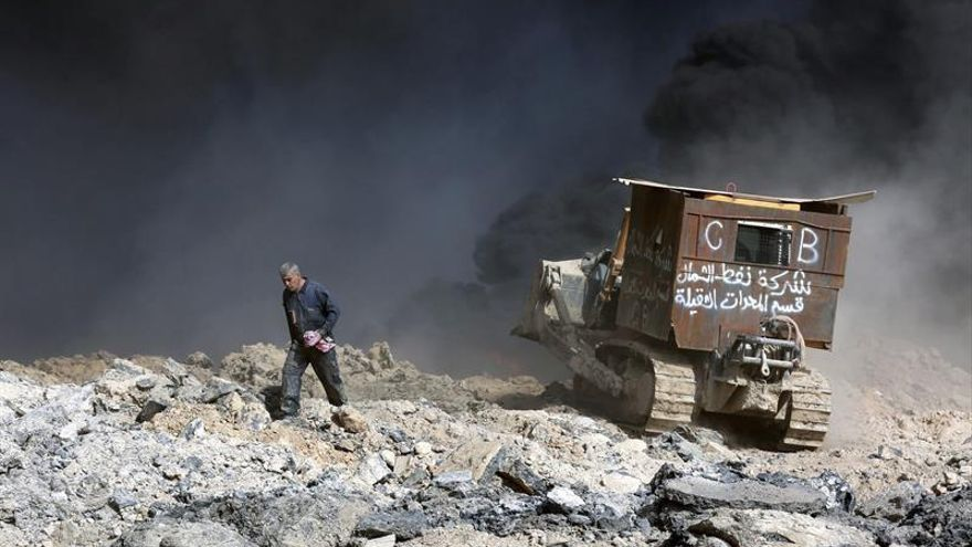 Una ofensiva para liberar Mosul provoca el desplazamiento de casi 60.000 iraquíes