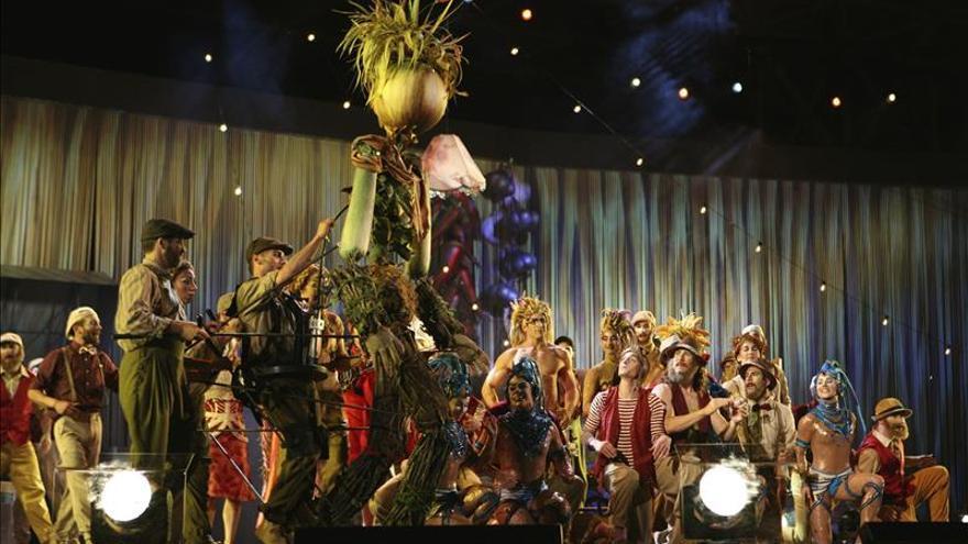 El Circo del Sol presenta su espectáculo creado para la Expo de Milán