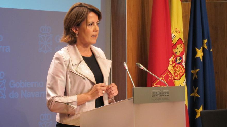 Barcina dice que el Gobierno foral no está en descomposición, tras las dimisiones en Hacienda y Salud