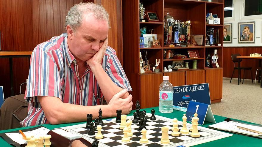 Fernando HIdalgo, en el Open de Otoño