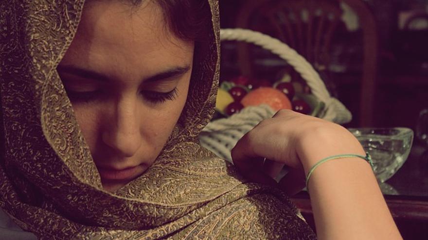 Un ejemplo de hijab