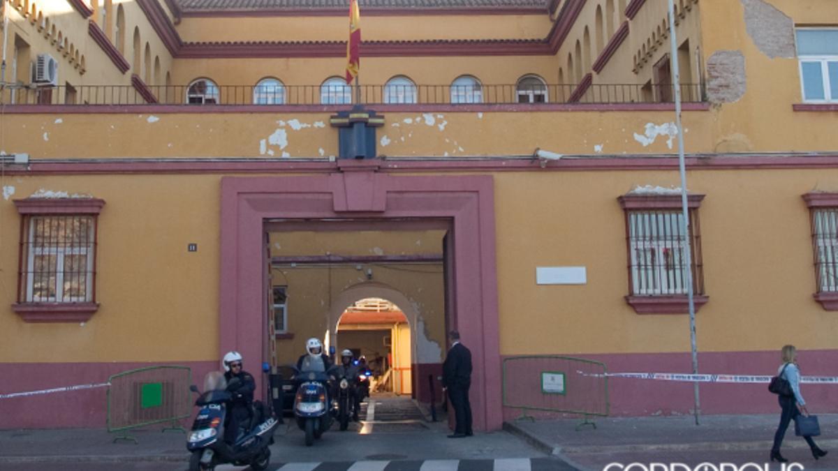 Comisaría de Policía Nacional en Córdoba.