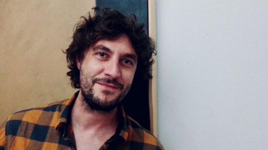 El escritor Raul Jiménez