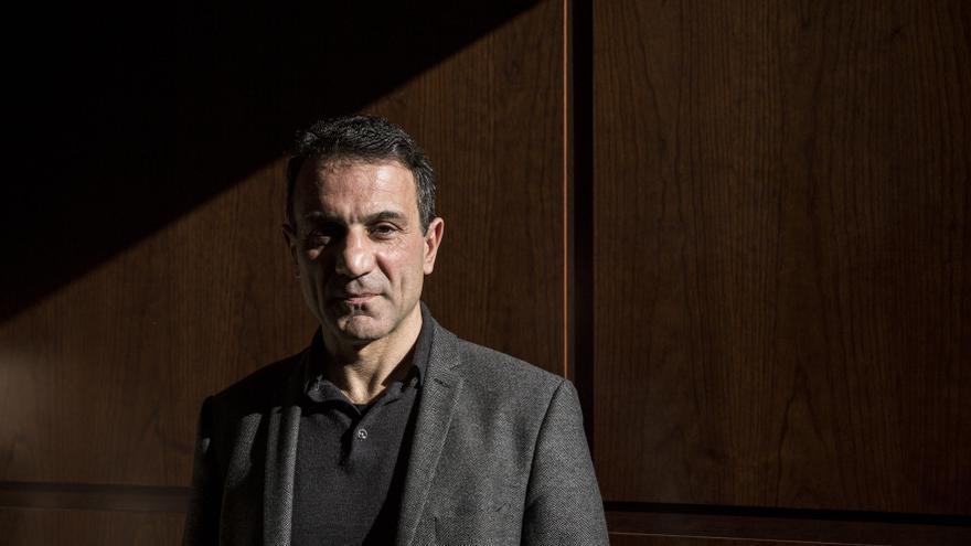 Costas Lapavitsas, exdiputado de Syriza, atiende a eldiario.es
