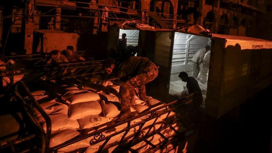 La ONU envía ayuda alimentaria a nuevas zonas en la provincia de Al Raqa